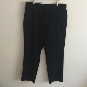 Stafford flat front dress pants 40 in x 30 in
